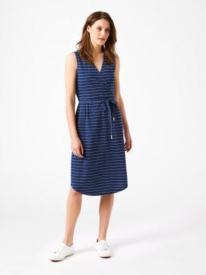 85e616f9a1 Avery Stripe Dress INDIGO STRIPE