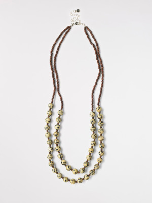 Double Layer Safari Necklace