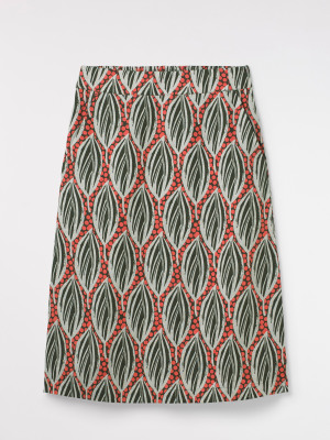 Palm Plaza Skirt