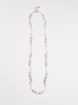 Stationed Tear Drop Necklace