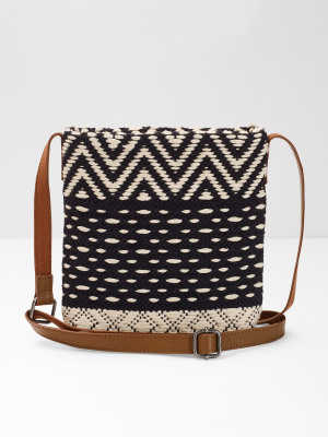Mini Issy Jacquard Crossbody
