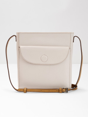 fd846cdb351e Mimi Leather Crossbody bag BONE