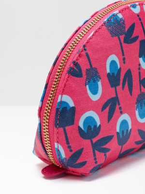 Beach Thistle Make Up Bag