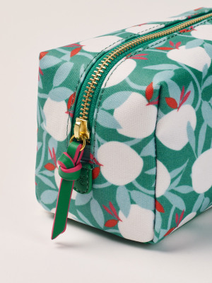 Apple Tree Square Make Up Bag