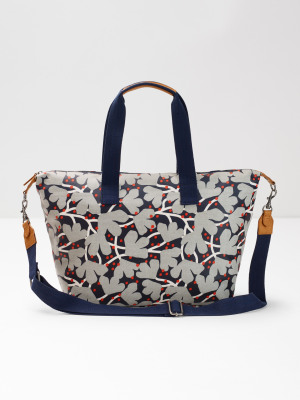 e687bc5654e0 Floral Coated Canvas Holdall MULTI