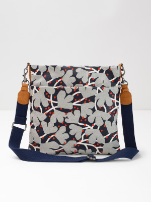 30c85006dff5 Floral Coated Canvas Crossbody MULTI