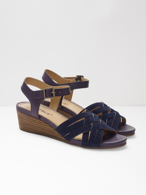 064bb1d1823e Carrie Mid Heel Comfort Wedge NAVY. More colours available