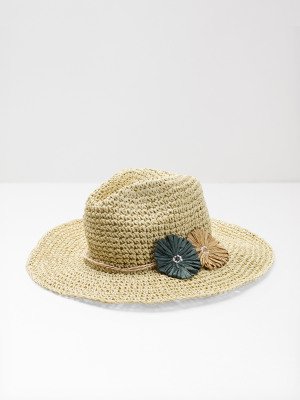 Flower Fedora Hat