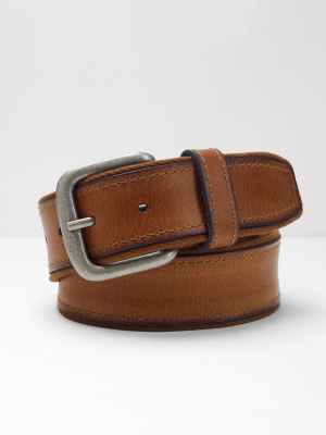 Twill Leather Belt