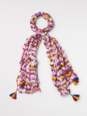 Margot Printed Modal Scarf