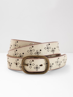 Annie Floral Emb Belt