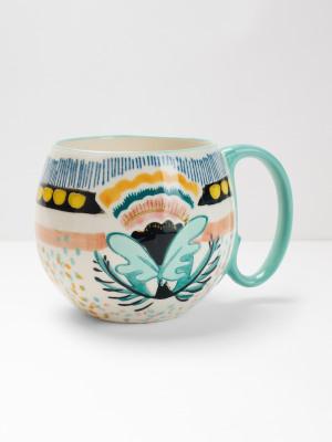 Tropical Round Decorative Mug
