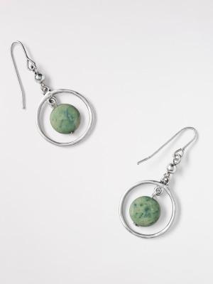 Mono Bead Drop Earring