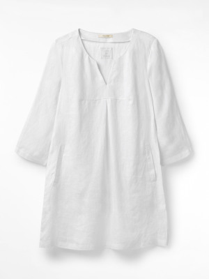 Banana Leaf Linen Tunic