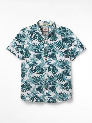 Manza Print Shirt