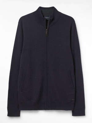 Morpeth Merino Zip Thru