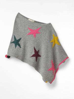 Kids Paper Stars Poncho