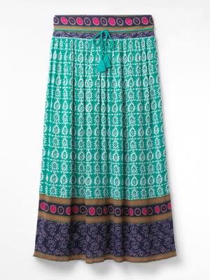 Dolorita Crinkle Maxi Skirt
