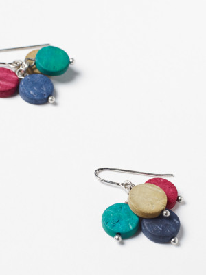 Monobead Cluster Earrings