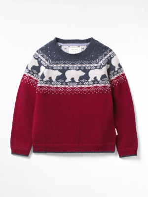 Bear Fairisle Jumper