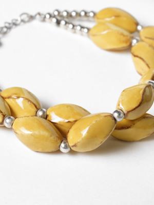 Ceramic Twist Bracelet