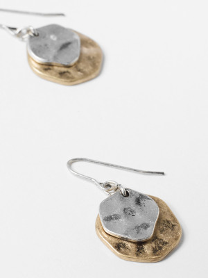 Layered Circle Earring