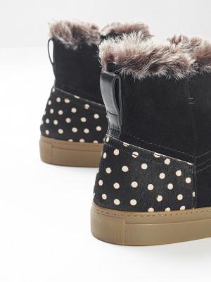 Ivy Faux Fur Ankle Boots