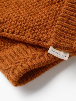 Moss Stitch Gloves