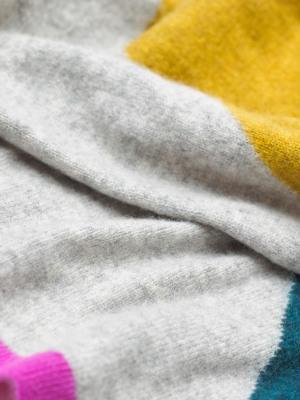 Cashmere Colourblock Scarf