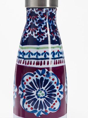 Plum Flourette Water Bottle