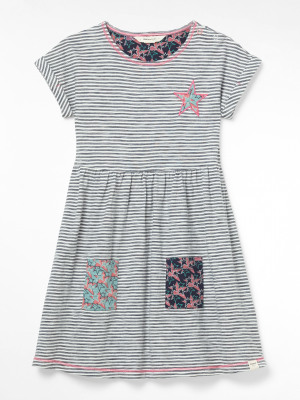 Stripe & Stars Jersey Dress