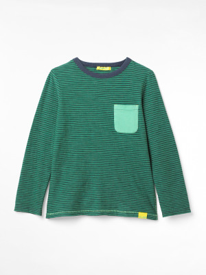 Tommy Striped Organic Jersey Tee