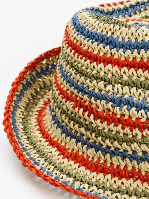 Kids Summer Stripe Hat