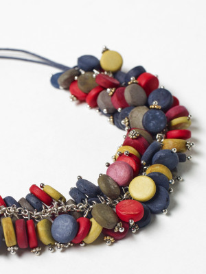 Multi Cluster Mono Necklace