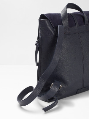 Laney Leather Mix Backpack