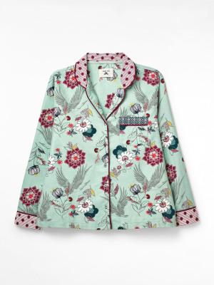 Trailling Flower PJ Top