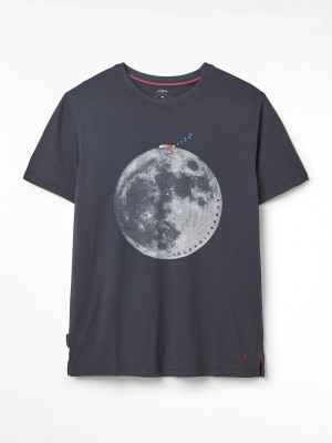 Man on the Moon Graphic Tee