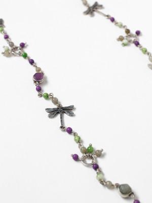 Garden Semi Precious Necklace