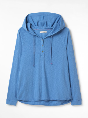 Cessil Hooded Jersey Tee