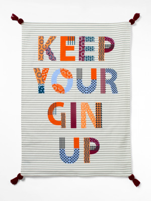 Keep Your Gin Up Tea Towel