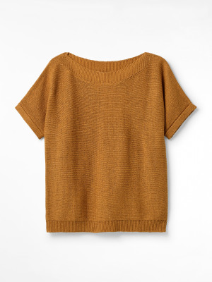 Rye Tape Short Sleeve Jumper