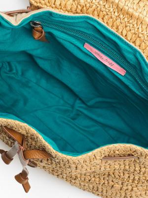 Rhea Paper Raffia Backpack