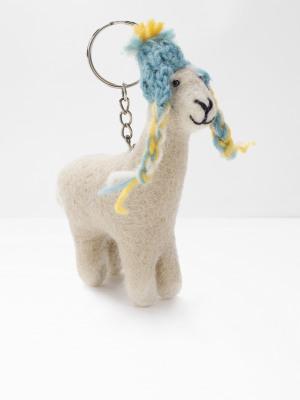Leo Llama Keyring