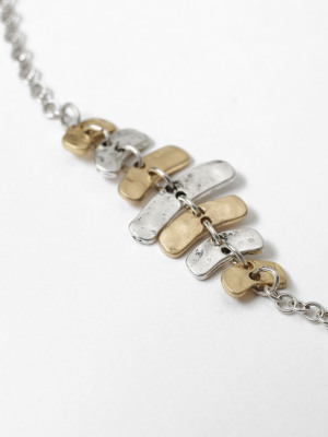 Stationed Linear Necklace