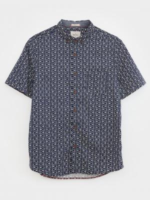 Geo Fish Print Shirt