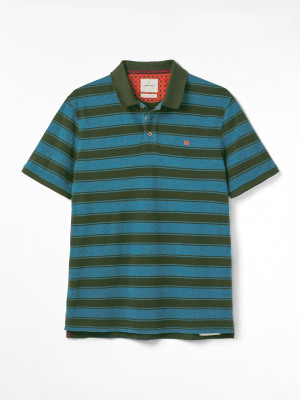 Lewes Stripe Fairtrade Polo