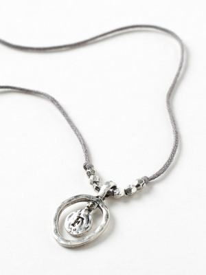 Alphabet Letter Necklace F