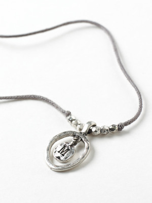 Alphabet Letter Necklace M