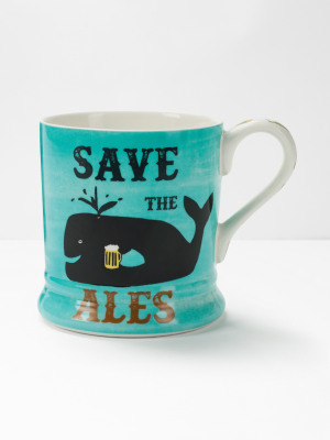 Save the Ales Slogan Mug