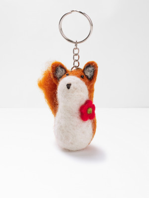 Mr Fox keyring